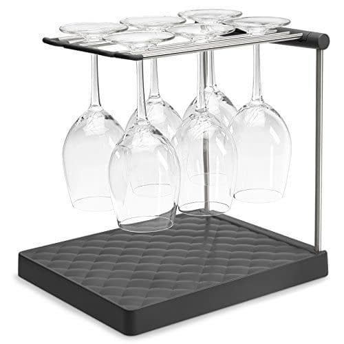 KOHLER Collapsible Wine Glass Drying Rack