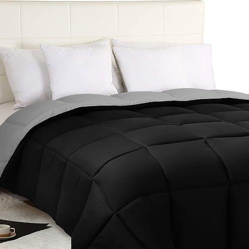 .Utopia Bedding Down Alternative Reversible Comforter