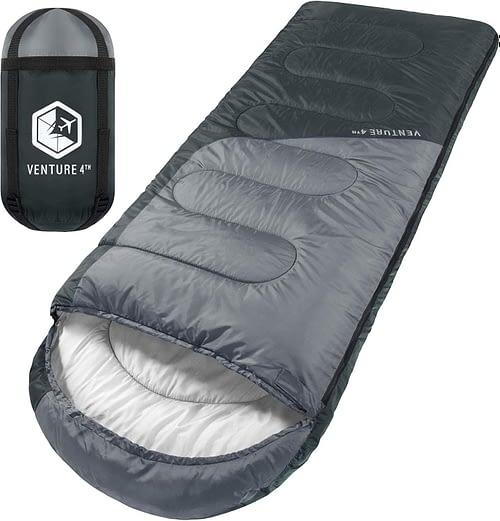 7. VENTURE 4TH Backpacking Sleeping Bag