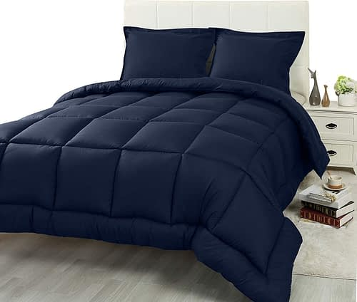 Utopia Bedding 3 Piece Comforter Set
