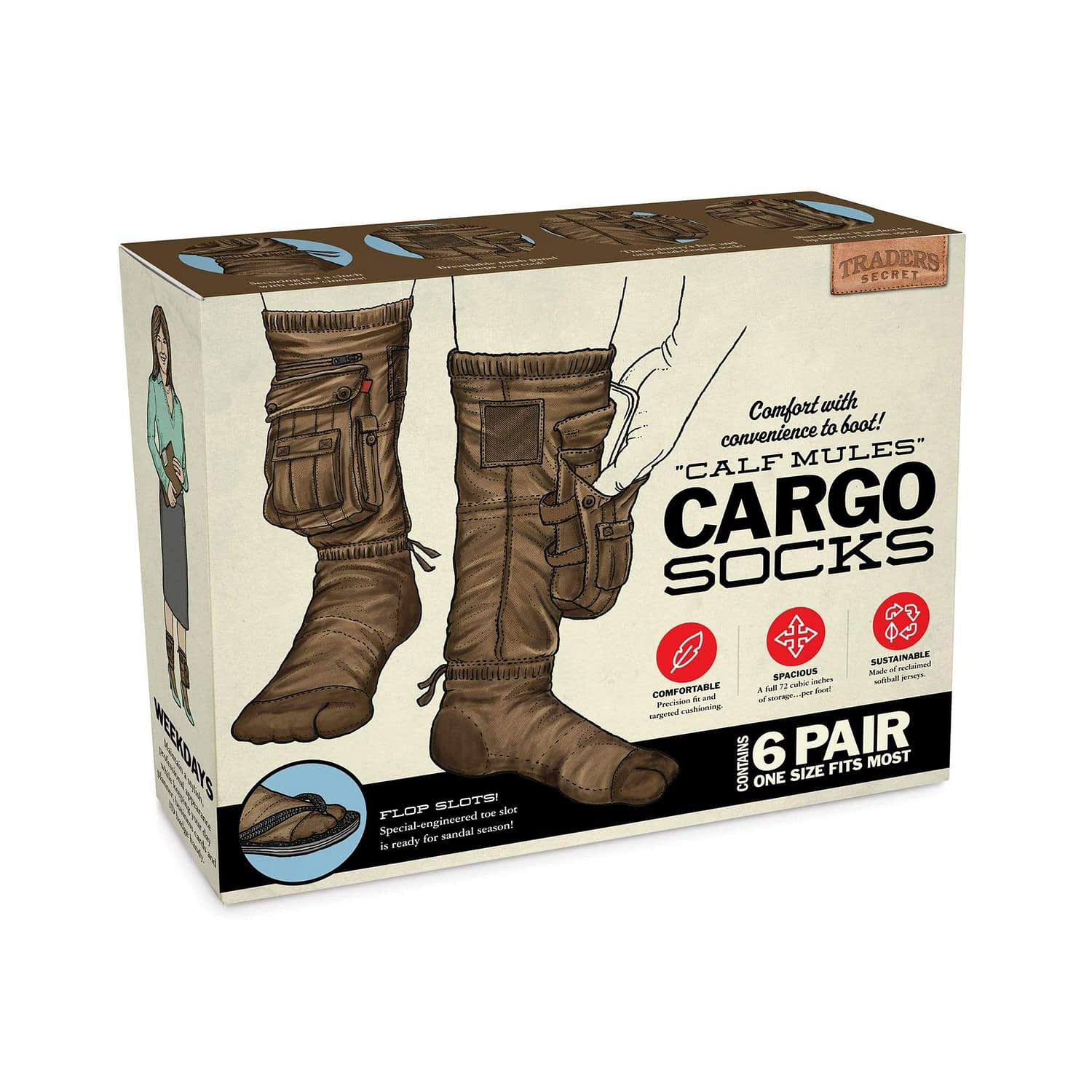 Cargo Socks Are Now A Thing