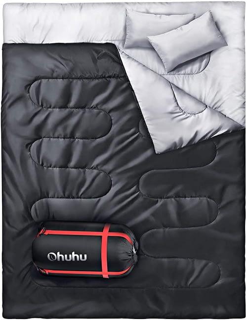 3. Ohuhu Double Sleeping Bag