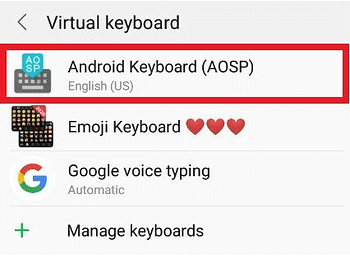 Android keyboard typing wrong letters – Reason and Solution