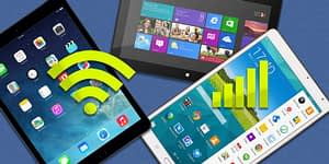 What is the difference between WIFI and 4G tablet?