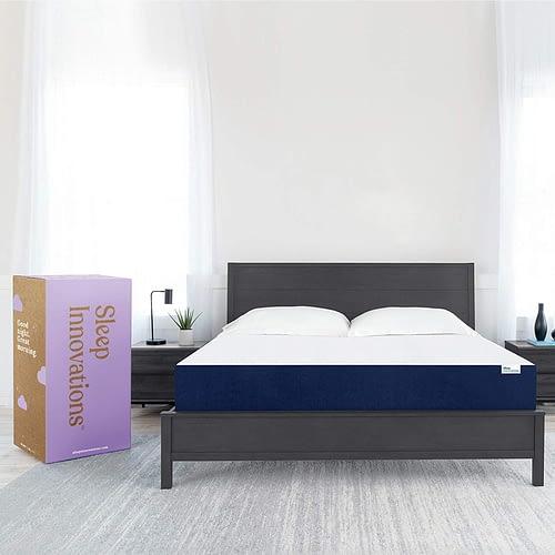 Sleep Innovations Marley Queen 10 Inch Cooling Gel Memory Foam Mattress