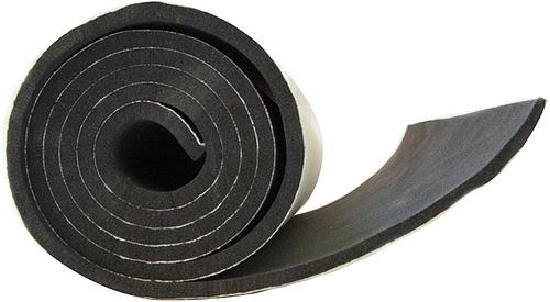XCEL Neoprene sponge rubber sheet with adhesive backing