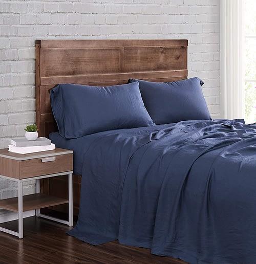 Brooklyn Loom Flax Linen Sheet Set,