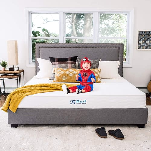 "Sunrising Bedding 8"" Natural Latex Twin Mattress"