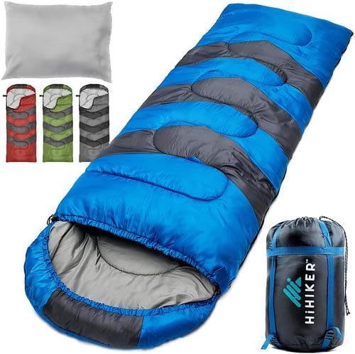 4. HiHiker Camping Sleeping Bag