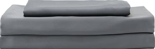 Full Hotel Sheets Direct Dark Gray Bamboo-derived Viscose, 1600 Thread Count, 4-Piece Bed Sheet Set (1 Flat, 1 Fitted sheet, 2 Pillow Covers)