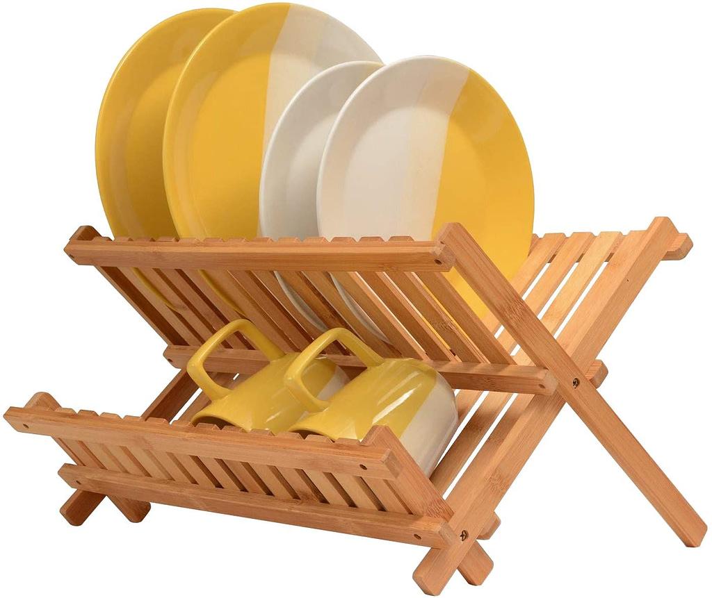 Bambusi Collapsible Dish Drying Rack