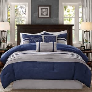 Madison Park - California King Palmer 7 Piece Comforter Set