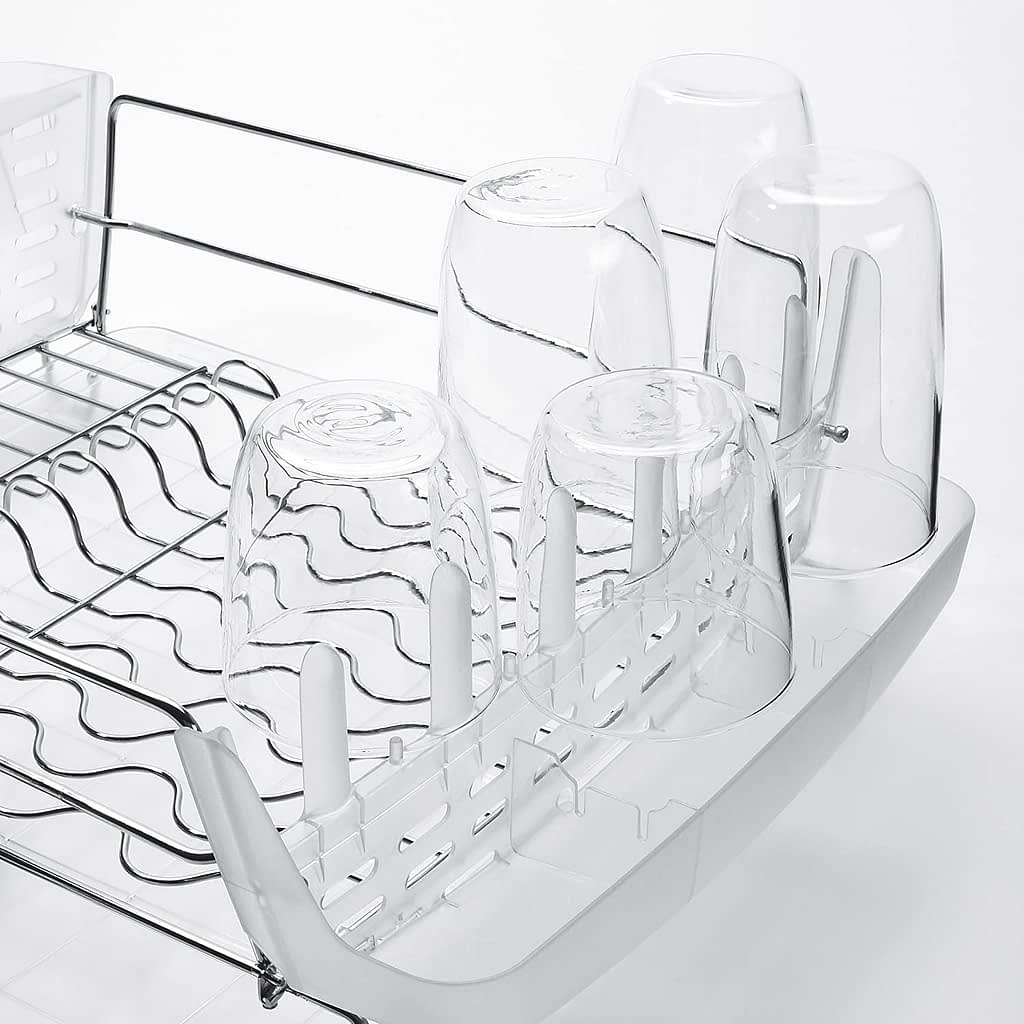 OXO Good Grips Foldable stainless steel dish rack