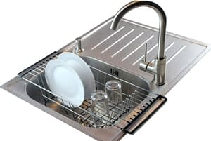 Neat-O Over-The-Sink Kitchen Dish Drainer Rack