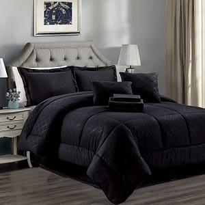 JML Comforter Set, 10 Piece Microfiber Bed set