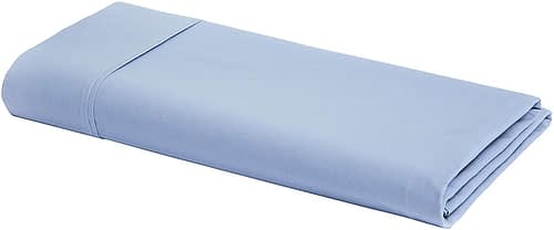 AmazonBasics Ultra-Soft Cotton Flat Sheet