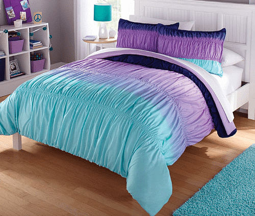 Casa Ombre Ruched Twin Bed in Bag
