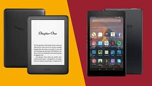 What is the difference between a kindle and a tablet
